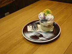 レアチーズケーキアフォガート